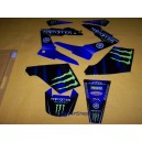 Monster Energy stickers decals for Yamaha dtr 125 dt125r