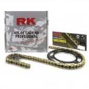 Kit chaine renforcé transmission RK pour Yamaha 125 dtr dtre dtx tdr