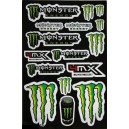 Planche Autocollants moto stickers géant Monster Energy