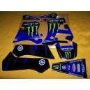 Kit deco autocollants moto stickers Yamaha dtr 125