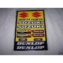 Autocollants moto stickers Suzuki