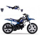 Dream 2 complete kit Blackbird + seat cover for Yamaha pw 50 1990 2014