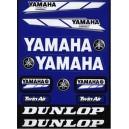 Autocollants moto stickers Yamaha