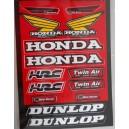 Autocollants moto stickers Honda
