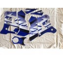 Kit deco autocollants moto Blackbird Racing Yamaha dt r dtr 125