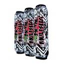 Housses amortisseurs Quad Atv Yamaha Raptor 700 Metal Mulisha