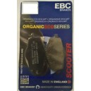 Brake pads for Yamaha dtr 125 and 200